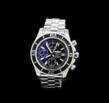 Breitling Stainless Steel SuperOcean Heritage Chronograph Men's Watch