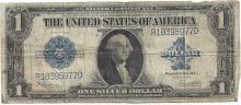 1923 $1 Large Silver Certificate Speelman / White Note