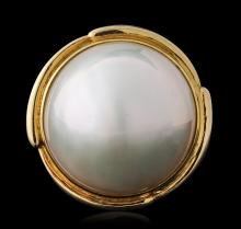 14KT Yellow Gold Pearl and Diamond Jewelry Suite