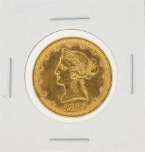 1882 $10 Liberty Head Eagle Gold Coin
