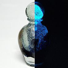 Glass Vase Sculpture by Novaro