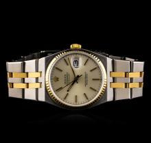 Rolex 18KT Two-Tone DateJust Men's Watch