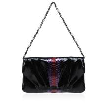 Judith Leiber Crocodile Skin Bag