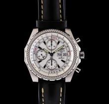 Breitling Stainless Steel Bentley Continental GT Men's Watch