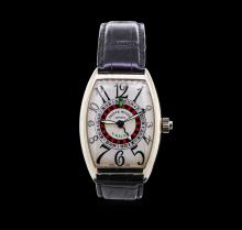 Franck Muller Vegas 18KT White Gold Watch