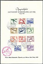 1936 Berlin stamps group of 3 items plus 10 vignettes incl. 1936 (Aug 1) pr