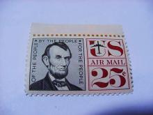 ABRAHAM LINCOLN AIRMAIL STAMP