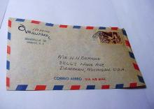MEXICO AIR MAIL COVER