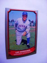 1989 PACIFIC TRADING # 27 LEO DUROCHER BASEBALL CARD