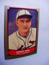 1989 PACIFIC TRADING # 63  JOHNNY MIZE BASEBALL CARD