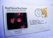 1976 ROYAL NATIONAL ROSE SOCIETY COVER