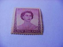 NEW ZEALAND QUEEN ELIZABETH STAMP