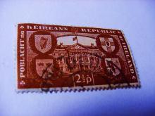 EARLY IRISH REPUBLIC STAMP
