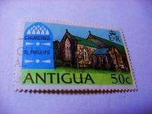 ANTIGUA CHURCHES STAMP