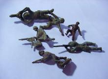 VINTAGE ARMY SOLDIERS