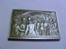 REPUBLICAN PARTY PEWTER MEDAL UNC