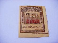 1895 WESTERN UNION TELEGRAPH STAMP