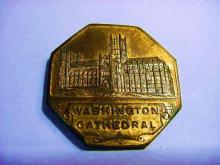 WASHINGTON CATHEDRAL MEDAL