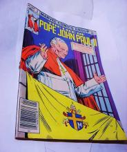 POPE JOHN PAUL 2 COMIC BOOK # 1