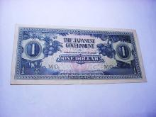 WORLD WAR 2 JAPANESE OCCUPATION BANKNOTE