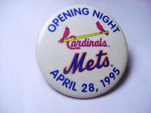 1995 METS BUTTON