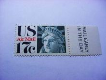 STATUE OF LIBERTY AIRMAIL STAMP