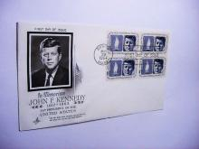 1964 PRESIDENT KENNEDY COVER