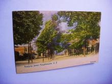 VINTAGE ACADEMY STREET, POUGHKEEPSIE N.Y. POST CARD