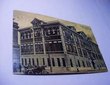 1907 DUTCHESS COUNTY COURT HOUSE POUGHKEEPSIE N.Y. POST CARD