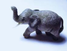 VINTAGE KUNSTLERSCHUTZ WEST GERMANY ELEPHANT