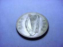 1963 IRELAND HALF CROWN