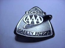 SCHOOL SAFETY PATROL BADGE