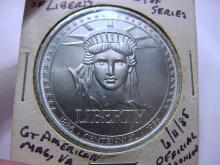 1986 STATUE OF LIBERTY MEDAL
