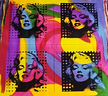 FOUR MARILYN'S by Gail Rodgers - One-of-a-Kind Hand-Pulled Silkscreen