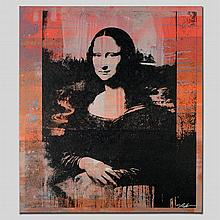 MONA LISA by Gail Rodgers - One-of-a-Kind Hand-Pulled Silkscreen