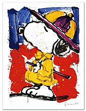 PRADA PUSS by Tom EVERHART.  Framed Limited Edition Lithograph on Paper