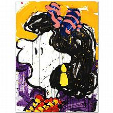 GLAM SLAM by Tom EVERHART. Framed Limited Edition Hand Pulled Original Lithograph.