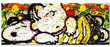 SNOOZE ALARM BOOGIE, 7:15AM by Tom EVERHART is a Limited Edition Hand Pulled Original Lithograph