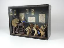 Taxidermy: ''The School Room.'' An extremely fine and rare 19th Century dio