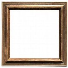 AMERICAN 19TH CENTURY ANTIQUE FRAME BY NEWCOMB MACKLIN