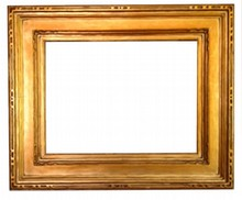 AMERICAN ARTS AND CRAFTS ANTIQUE FRAME