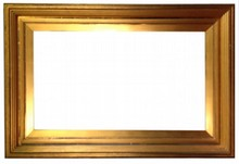 AMERICAN 19TH CENTURY ANTIQUE WHISTLER STYLE FRAME