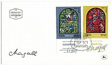 CHAGALL, MARC. First Day Cover - (FDC)