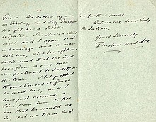 LORD & LADY DUFFERIN. Autograph Letter Signed - (ALS)
