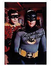 BATMAN - WARD & WEST. Photograph Signed - (SP)