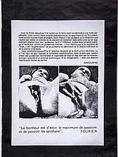 LEBEL, JEAN-JACQUES - PARIS h MEM An original printed poster by...