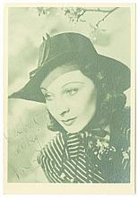 MISCELLANEOUS AUTOGRAPHS COL A miscellaneous collection of autographs