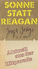 BEUYS, JOSEPH - GERMAN ART CD/LP An original 7