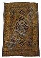 Mohtashem Kashan rug, central persia, circa 1890,