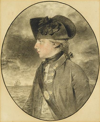 JOHN DOWNMAN, (BRITISH 1750-1824), CAPTAIN THE HONOURABLE W. WALDERGRAVE